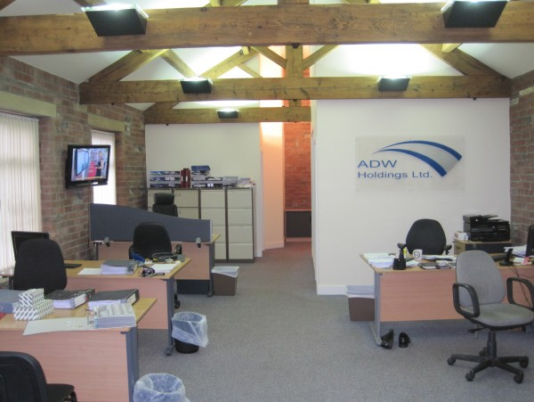 Buttershaw Works Office